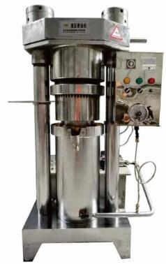 Big electric cocoa butter hydraulic oil press machine picture