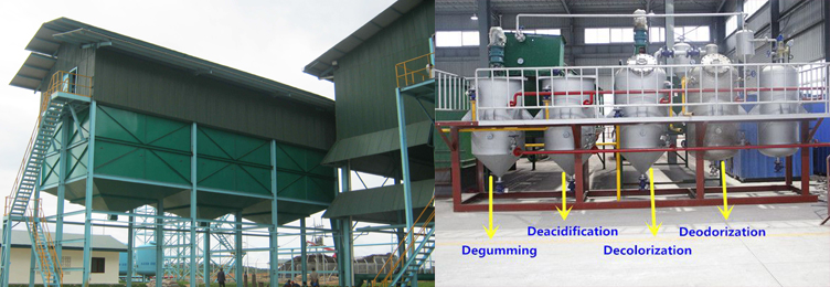 typical palm kernel oil refining process