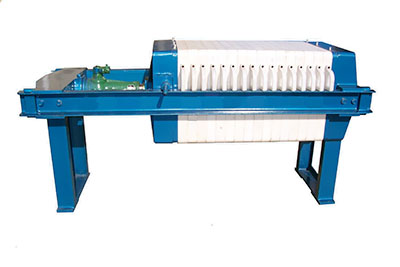 plate type filter press machine for palm oil processing